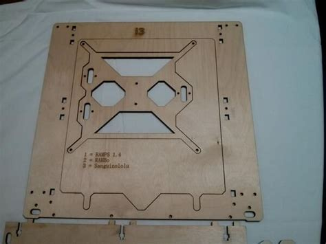 Prusa I3 Vanilla Printed Part building a prusa i3 3d printer 18 steps