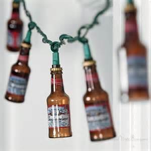 bud light string lights bottle and can lights