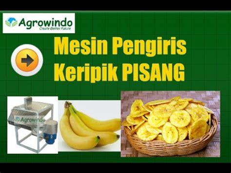 mesin pemotong pisang pengiris pisang untuk keripik