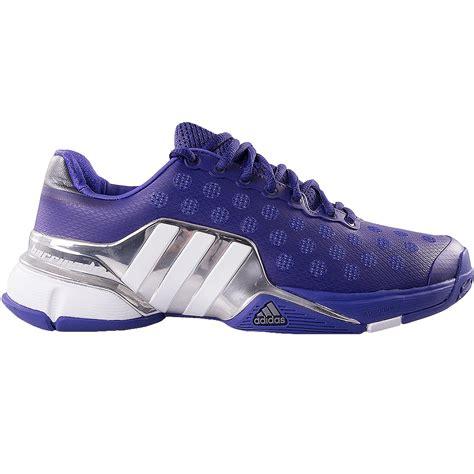 adidas barricade 2015 s tennis shoe purple silver