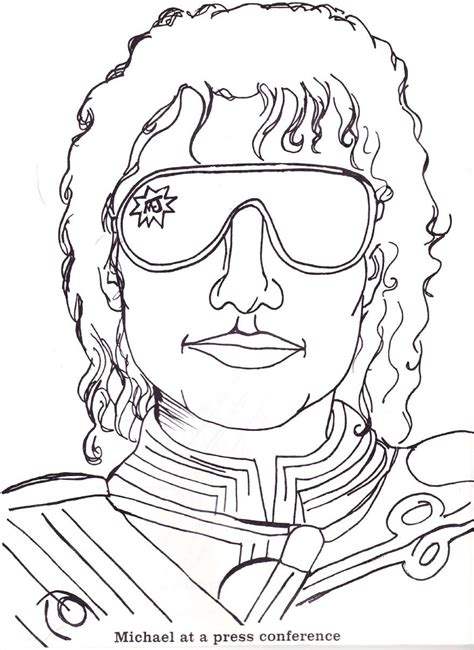 michael jackson coloring book pictures to pin on pinterest