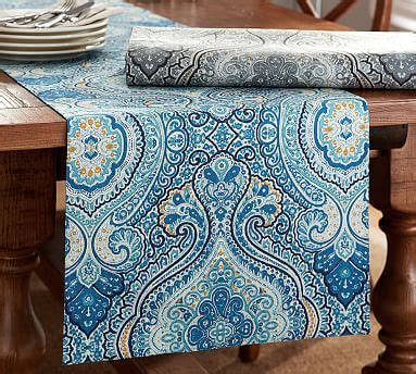 beales rugs beale paisley table runner pottery barn