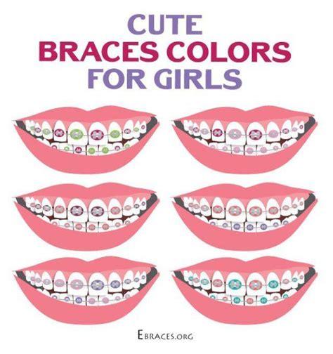 best color braces top 25 ideas about braces colors on nail color