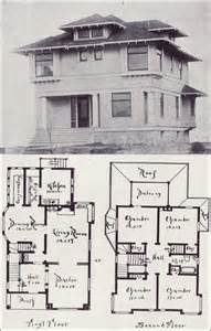 American Foursquare Floor Plans northwest craftsman house plan seattle vintage houses