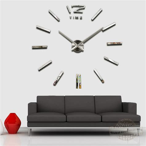 home decor for sale luxury large wall clock 3d sticker big bedroom ideas charming large wall clocks with luxury wall