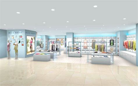 Blue Interior Design garde blue erdos beijin nakatomo department store