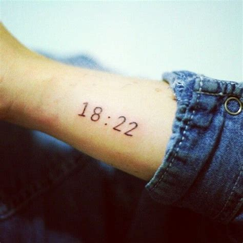 tattoo numbers on arm black simple number tattoo on arm tattoomagz