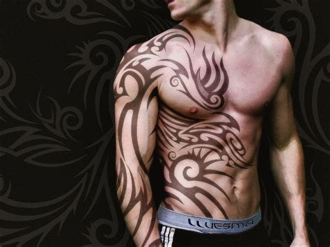 men with tribal tattoos 150 best tribal designs ideas meanings 2018