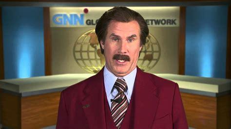 will ferrell news anchorman 2 ron burgundy will ferrell book greeting