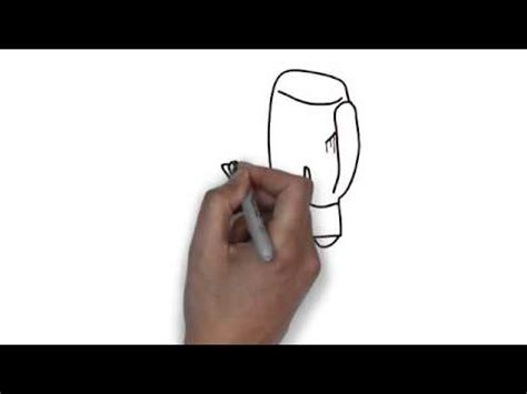 How To Make Boxing Gloves Out Of Paper - how to draw boxing gloves