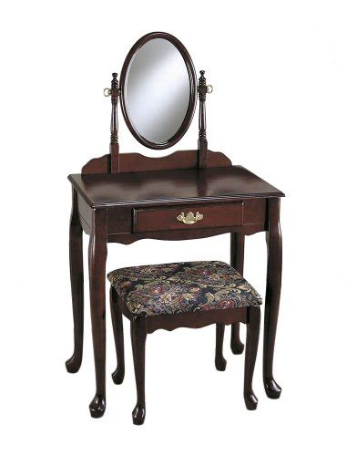 powell vanity mirror and bench where to purchase powell cherry vanity mirror bench set