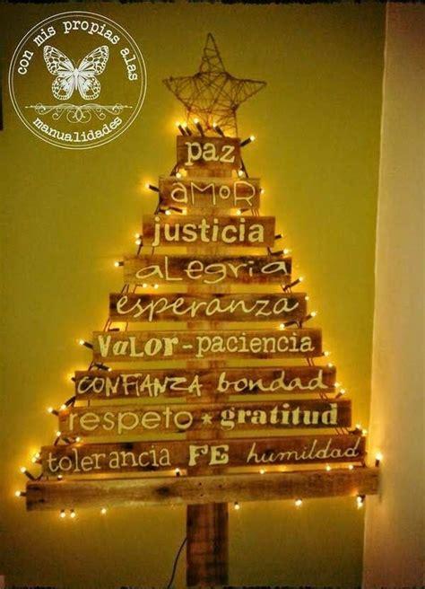 arboles de navidad de madera 45 193 rboles de navidad con reciclados para ni 241 os ecolog 237 a hoy