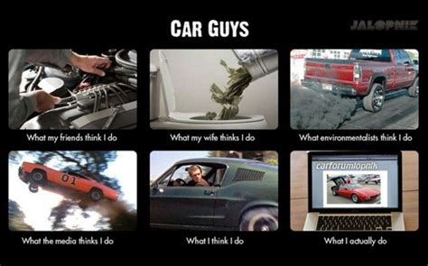 Car guys http://www.carthrottle.com   Car Memes