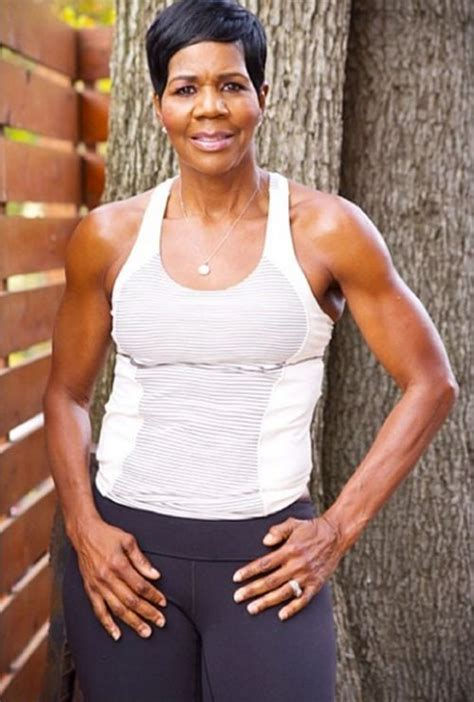 how can older black women 60 years old grow loger hair this 63 year old mom decided to become a fitness trainer