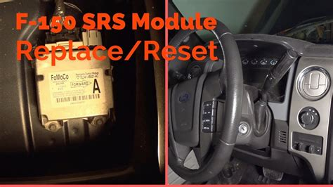 ford  srs airbag module replacementreset