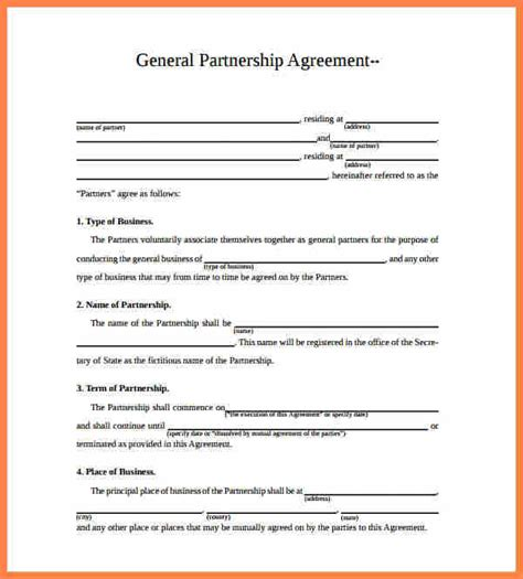 corporate partnership agreement template 8 corporate partnership agreement template purchase