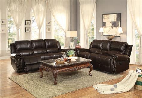 homelegance reclining sofa reviews homelegance annapolis reclining sofa set leather gel