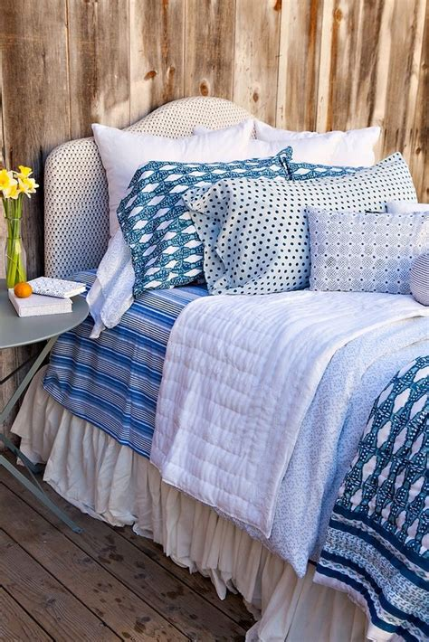 kerry cassill field flower bedding 17 best images about textiles on pinterest indigo dream