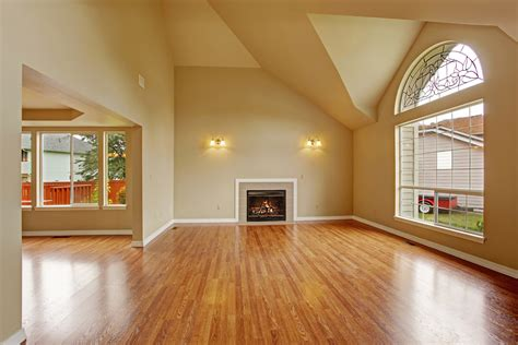 Empty Living Room Window Residential Commercial Remodeling Flooring Additions
