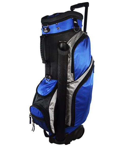 rj sports wheeled golf bag by rj sports golf cart bags