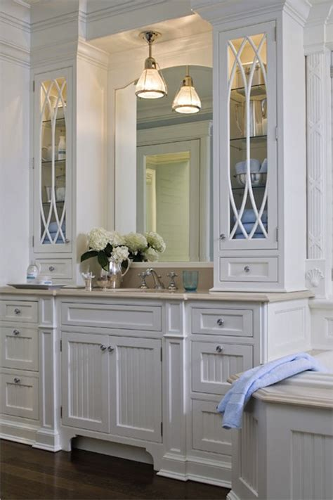 white cabinet bathroom ideas kitchens by deane traditional white bathroom with white