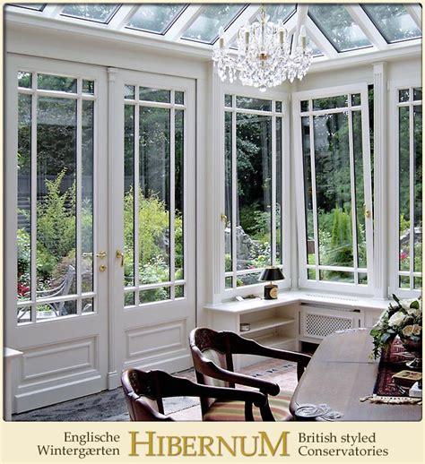 wintergarten englisch sprossenfenster im englischen wintergarten innenausbau