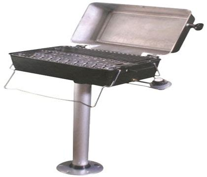 boat grill with pedestal the best pontoon boat grills buyers guide reviews of the