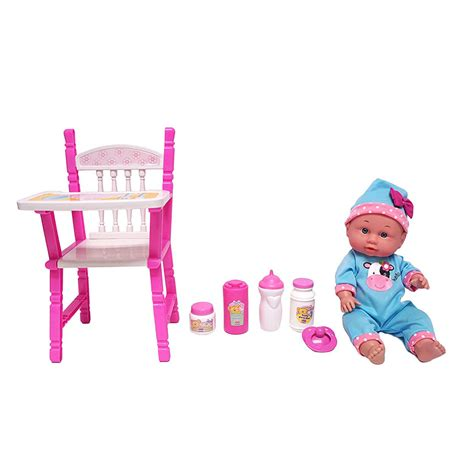 baby doll high chair set 12 baby doll with high chair gift set