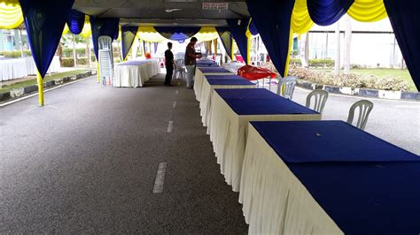 Scarlop Top Murah sewa meja kerusi untuk majlis events chairs tables to