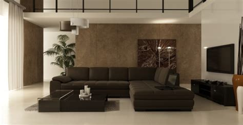 Living Room With Brown Sofa Decorating With Brown Sofa Interior Design Ideas