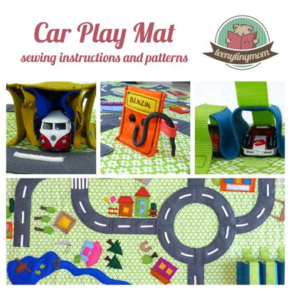 sewing for a car play mat teenytinymom