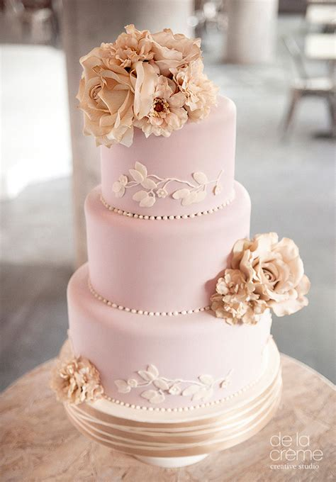 Contemporary Wedding Cakes by Amazing Contemporary Wedding Cakes By De La Cr 233 Me