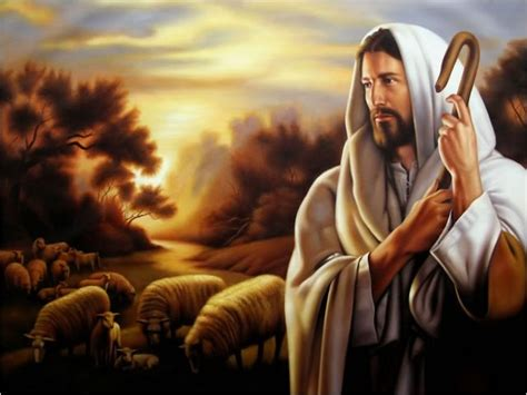 imagenes de dios o jesucristo jess el buen pastor que da su vida por las ovejas