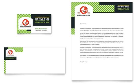 pizza business card template pizza business card letterhead template design