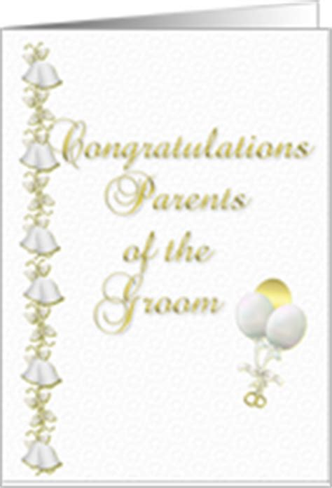 Wedding Congratulation To Parents by Wedding Cards For Parents Of The Groom From Greeting Card