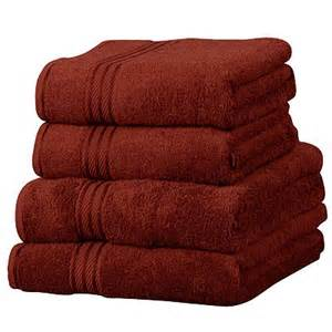 rust colored bath towels 1stop homeshop towels
