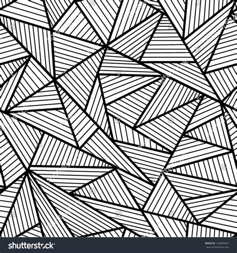 abstract pattern black and white abstract black and white seamless pattern stock vector
