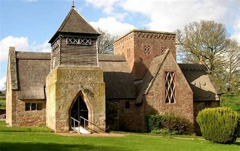 How To Build A Victorian House All Saints Church Brockhampton By William Richard