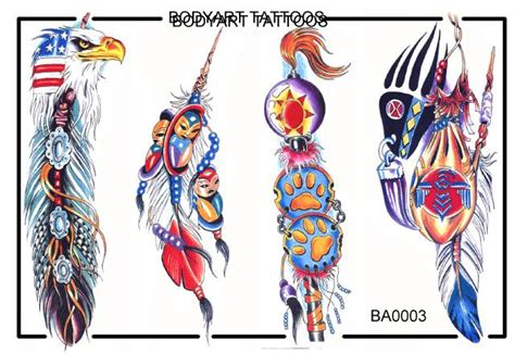 native american indian tribal tattoos american tattoos