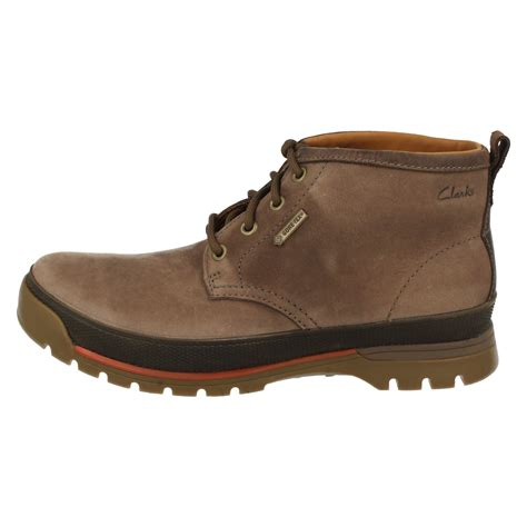clarks waterproof boots mens clarks casual waterproof boots narly hill gtx ebay