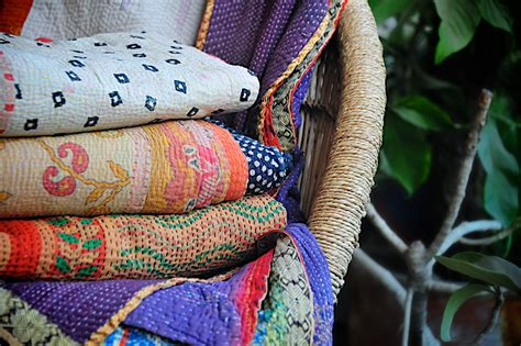 Cheap Handmade Quilts - vintage kantha quilts selected wholesale exporter