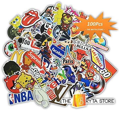 logo stickers amazoncom