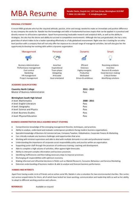 Mba Canditate by Mba Candidate Resume Http Www Resumecareer Info Mba