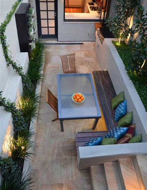outdoor design ideas for small outdoor space 18 clever design ideas for narrow and outdoor spaces