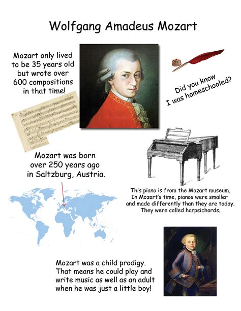 wolfgang amadeus mozart biography facts 20 facts about mozart myideasbedroom com