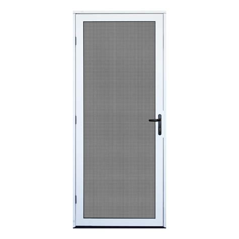 screen for doors outswing unique home designs 32 in x 80 in white surface mount