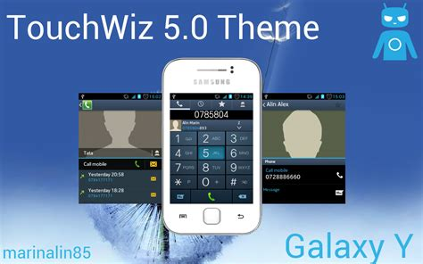 download game mod galaxy young touchwiz 5 0 theme for samsung galaxy y