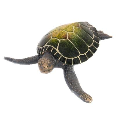 Turtle Import sea turtle figurine globe imports