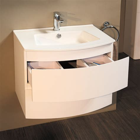 Wall Mounted Drawer Unit by 620 Wall Mounted Vanity Drawer Unit And Basin
