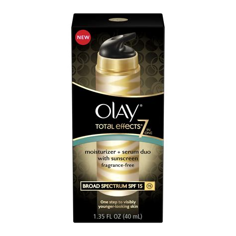 Serum Olay Total Effect olay total effects 7 in 1 moisturizer serum duo olay total effects delivers more results in